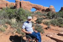 Art Moore at Arches National Park