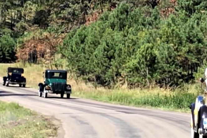 Model A's Moving
