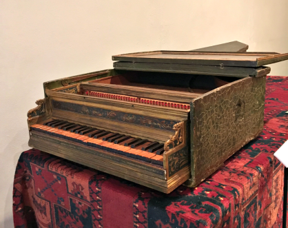 An example of a rare instrument at the National Music Museum in Vermillion.