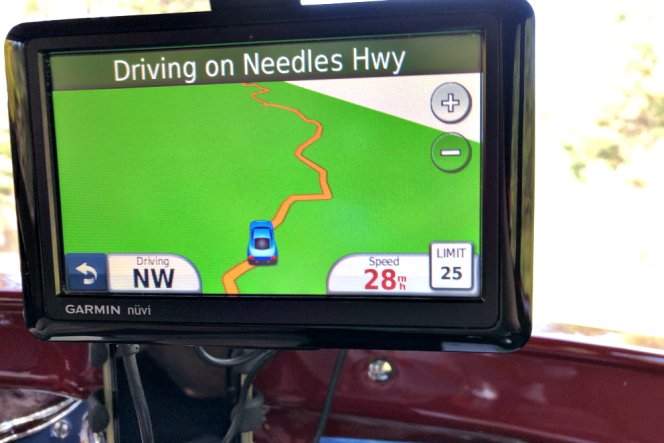 Needles Highway GPS