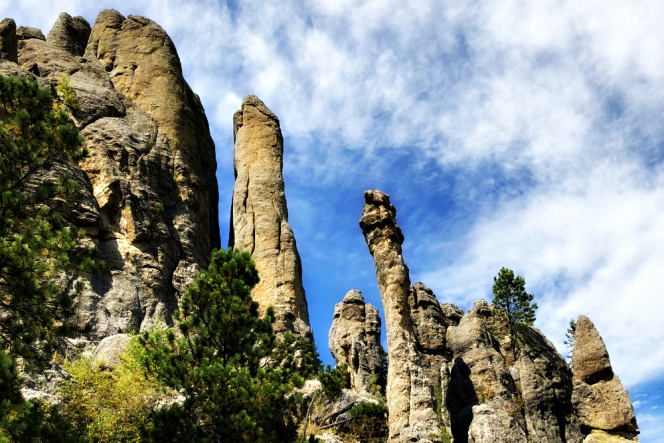 Needles Highway Rock Structures