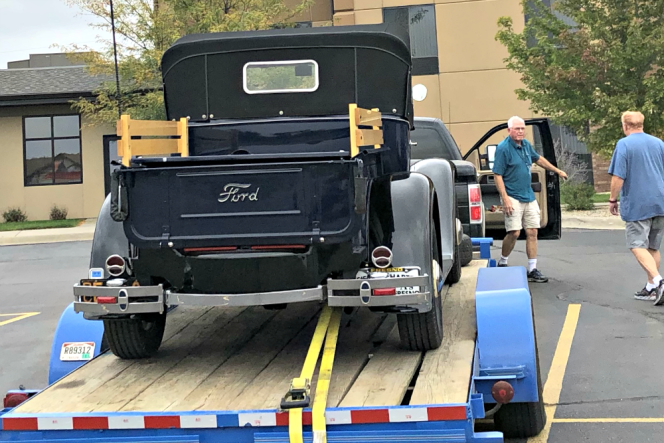 Repair Truck Delivery