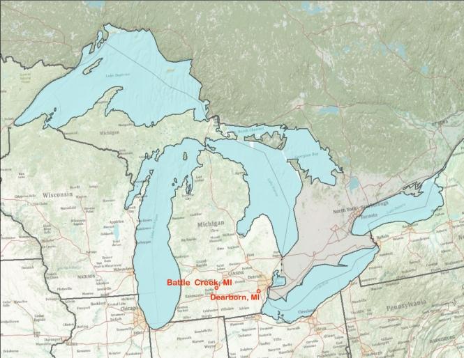 Great Lakes Dearborn Battle Creek