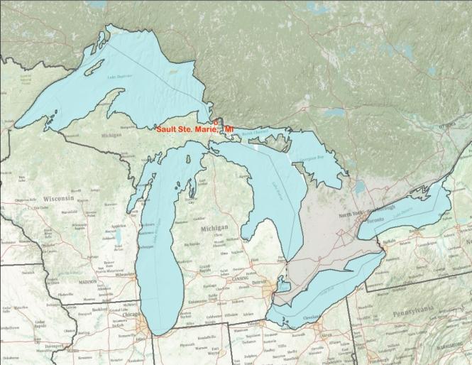 Great Lakes Image Sault Ste. Marie MI
